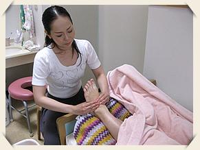 産後リフレクソロジー